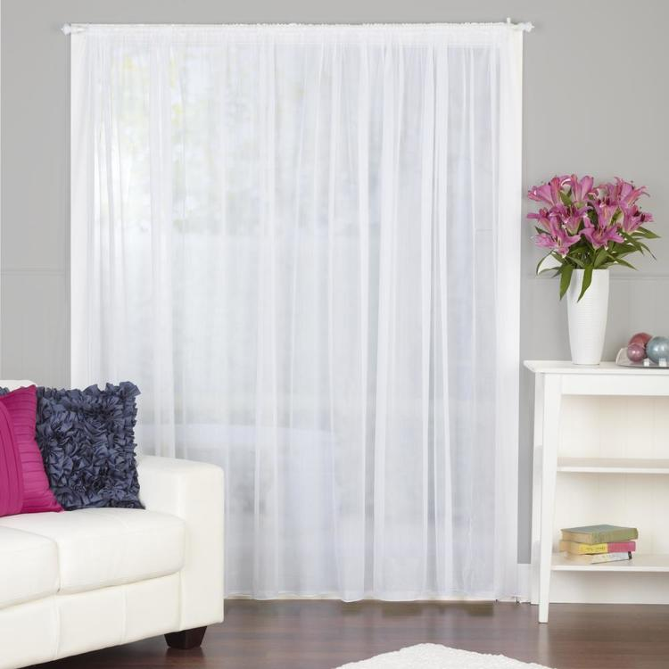 Caprice Regal Pencil Lace Curtain