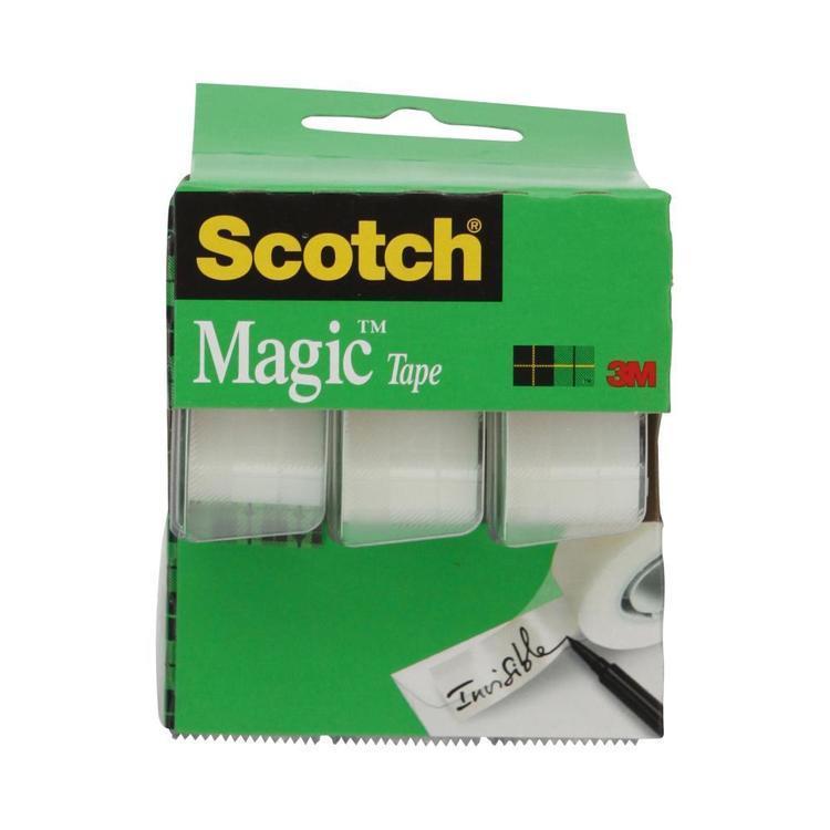 Scotch Magic Tape 3 Pack