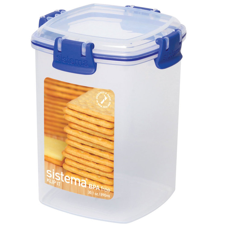Sistema Klip It Cracker Container 900 mL