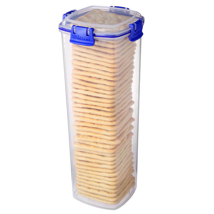 Sistema Klip It Cracker Container 1.8 L Clear Large