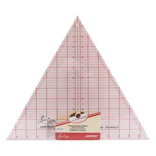Sew Easy 60 Degrees Imperial Triangle Ruler