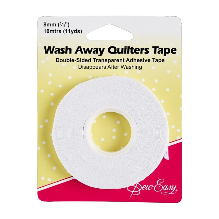 Sew Easy Quilters Wash-Away Tape