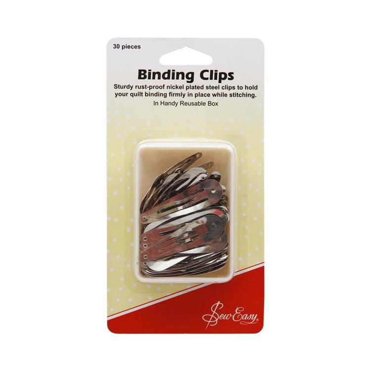 Sew Easy Binding Clips Quilting