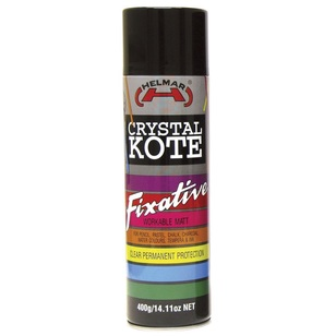Helmar Crystal Kote Fixative Workable Matte Finish