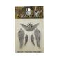 Steampunk Wings & Cherub Charms Silver