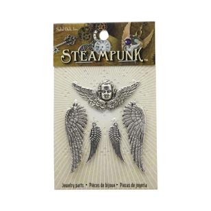 Steampunk Wings & Cherub Charms