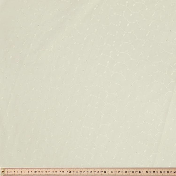 Broderie Anglais 110 cm Fabric