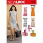 New Look 6095 Women's Dress  10 - 22