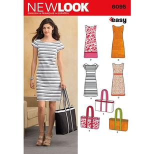 New Look Pattern 6095 Women's Dress