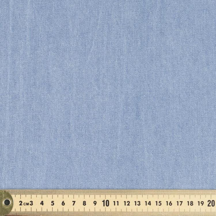 Light Cotton Twill 144 cm Denim Fabric