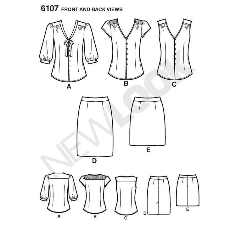 New Look 6107 Women's Coordinates