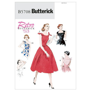 Butterick Pattern B5708 Misses' Dress