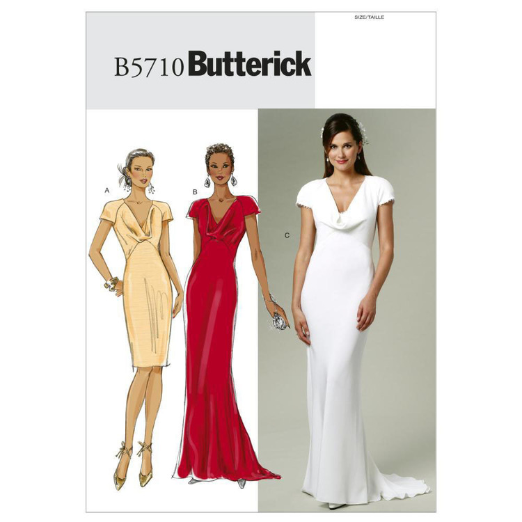 Butterick Pattern B5710 Misses' Dress