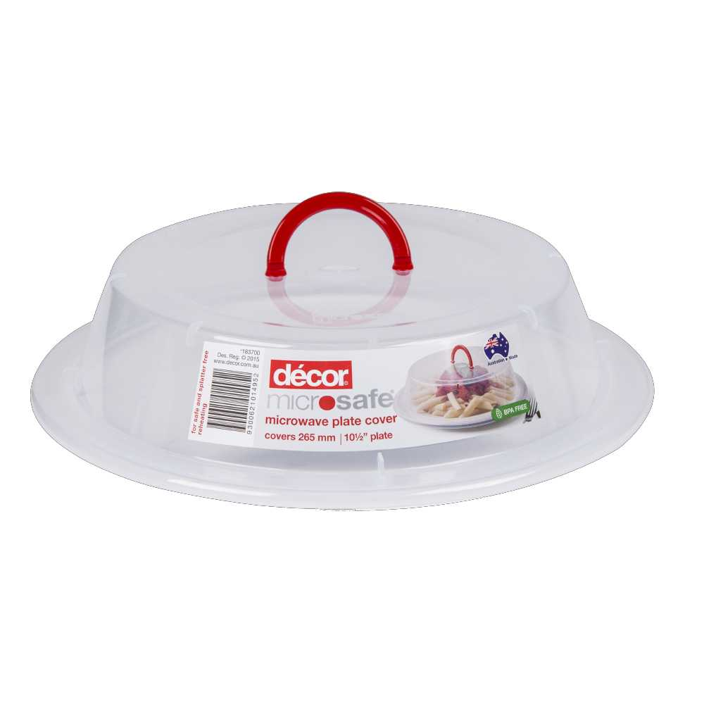 Why Do We Cover Food In Microwave: NEW Decor Microsafe Microwave Plate Cover By Spotlight