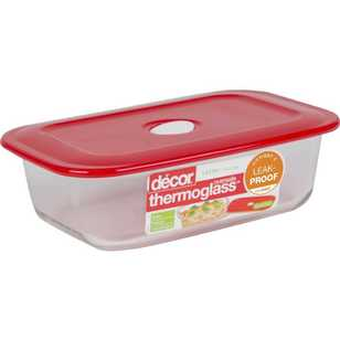 Decor Thermoglass Oblong Baking Dish 1.8 L