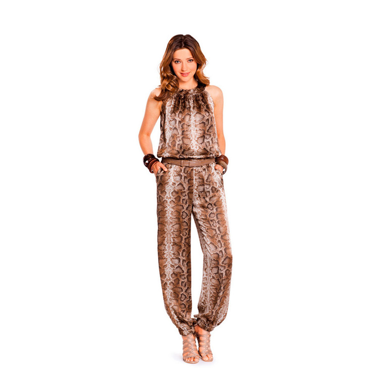 Burda 7235 Women's Jumpsuit  6 - 20