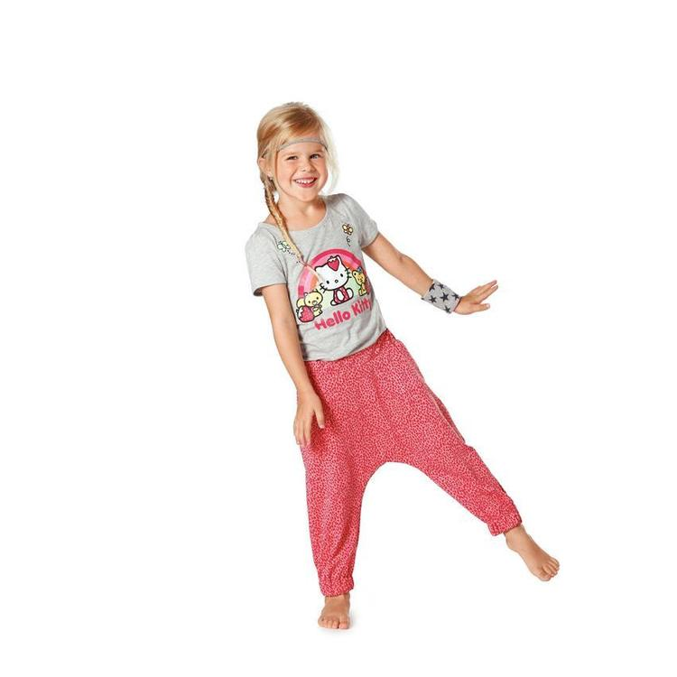 Burda 9493 Girl's Pants  4 - 10