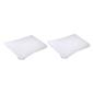 Brampton House Stain Resistant Pillow Protectors White Standard