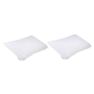 Brampton House Stain Resistant Pillow Protectors