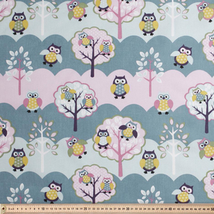 Hibou Uncoated Kids Fabric