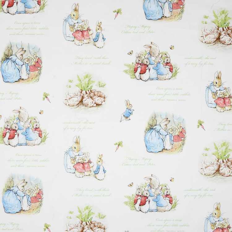 Peter Rabbit Family Fabric