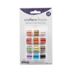 Crafters Choice Aluminium Wire Value Pack