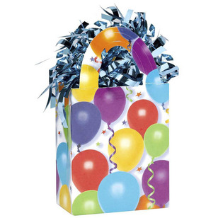 Amscan Balloons & Stars Mini Tote Balloon Weight