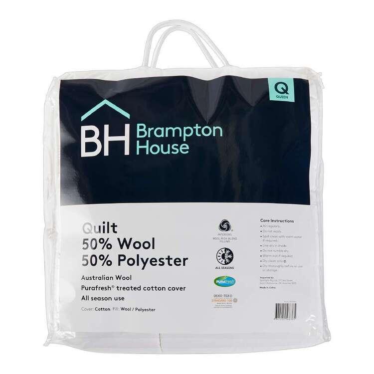Brampton House 50% Wool 50% Polyester Quilt