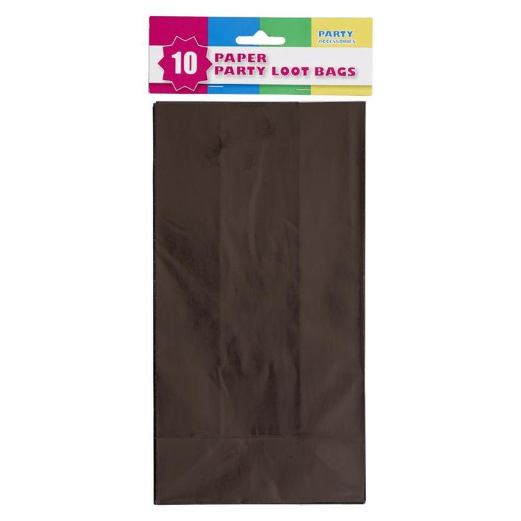 Party Plain Loot Bag 10 Pack