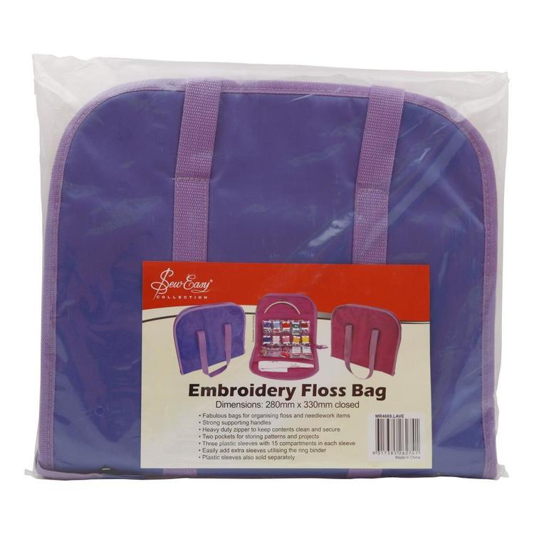 Sew Easy Embroidery Floss Bag