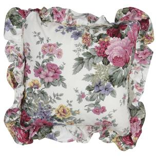Gainsborough Rosewood Floral Cushion