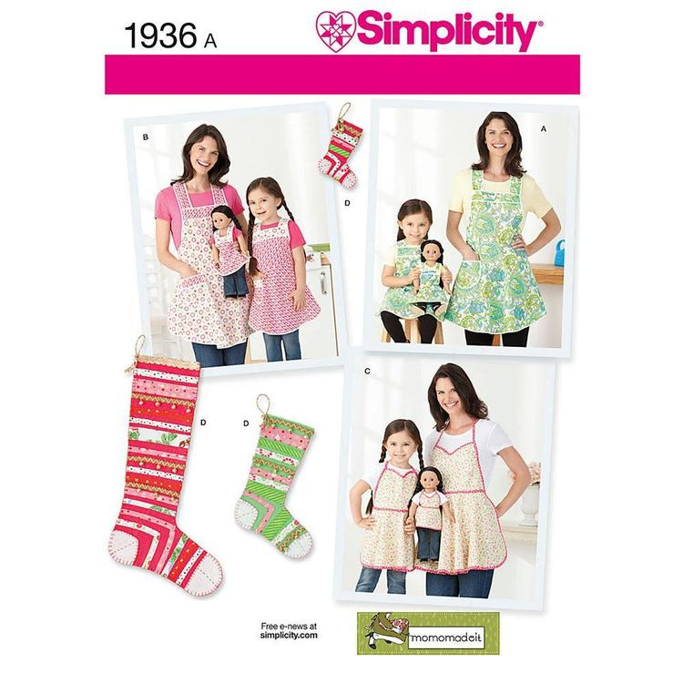 Simplicity 1936 Apron  Small - Large