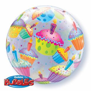Qualatex Bubbles Cupcakes Balloon