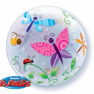 Qualatex Bubbles Garden Bugs Balloon