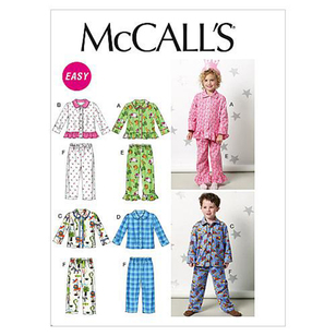McCall's Pattern M6458 Kids' Tops & Pants
