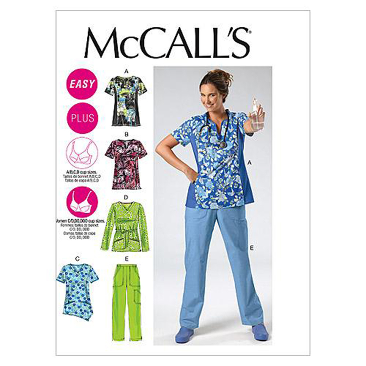 McCalls M6473 Womens' Tops & Pants