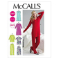 McCall's M6474 Womens' Top Tunic Gowns & Pants