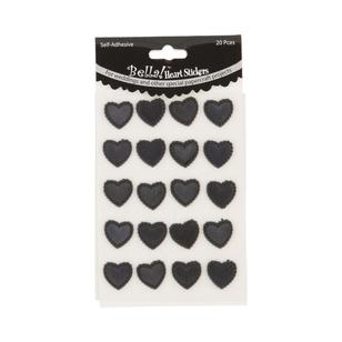 Bella! Heart Stickers