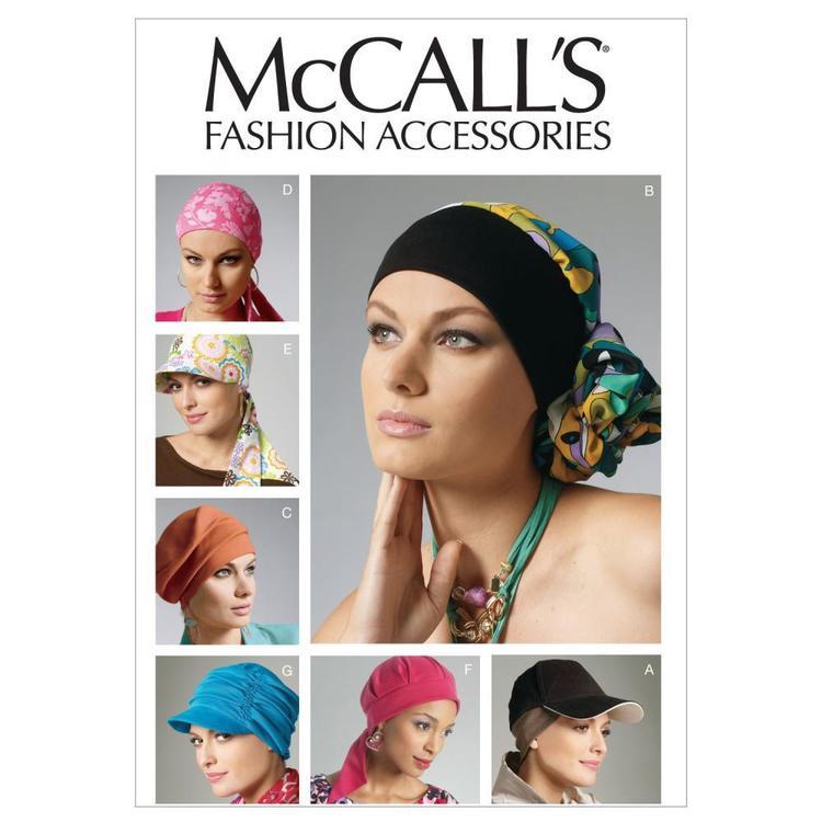 McCall's Pattern M6521 Headband Head Wraps & Hats
