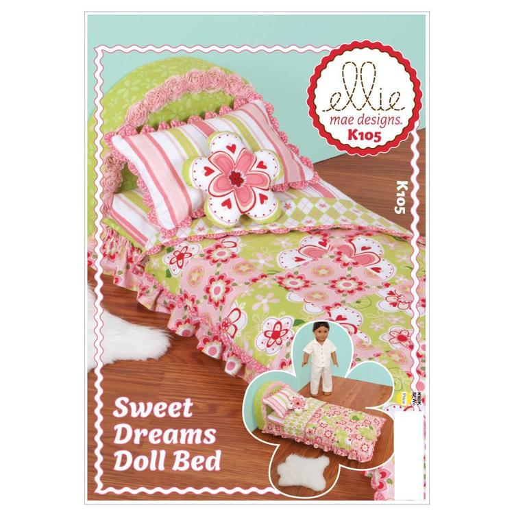 Kwik Sew Pattern K0105 Sweet Dreams Doll Bed