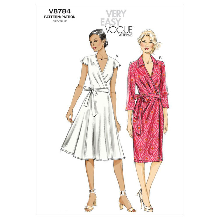 Vogue Pattern V8784 Misses' Dress