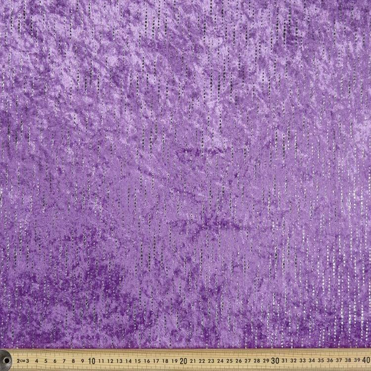 Tinkerbell Dot Stripe 148 cm Panne Fabric