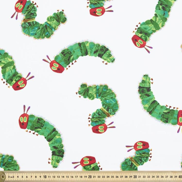 Very Hungry Caterpillar Tossed Cotton Fabric