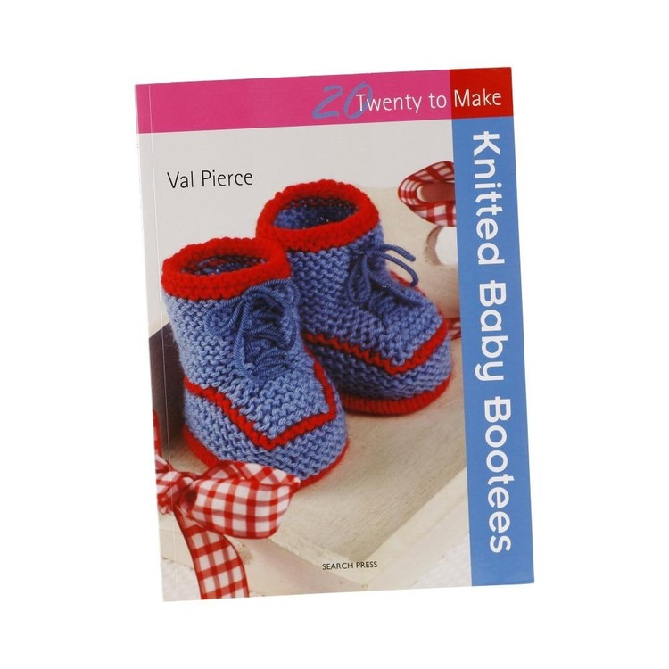 Search Press Twenty To Make: Knitted Baby Booties