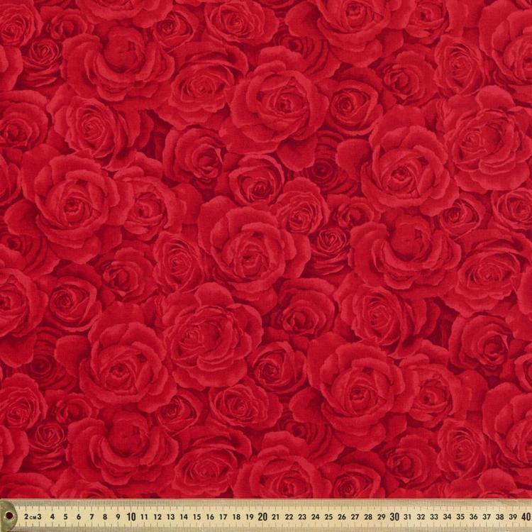 Timeless Treasures Roses Blender Fabric