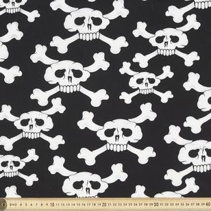 Pirate Skull Cotton Poplin