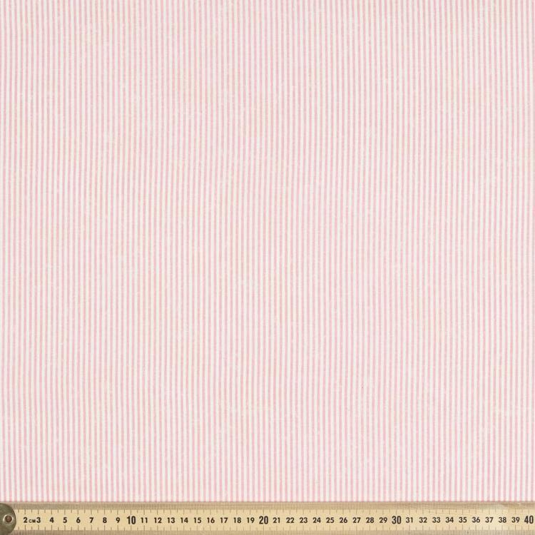 La Vie En Rose Stripe Fabric