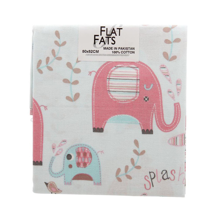 Elephant Splash All Over Flat Fats