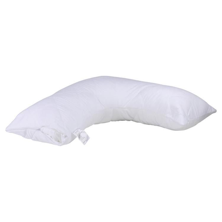 Brampton House V Shaped Anti Bacterial Quilted Pillow Protector