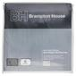 Brampton House Anti-bacterial Strapped Mattress Protector White